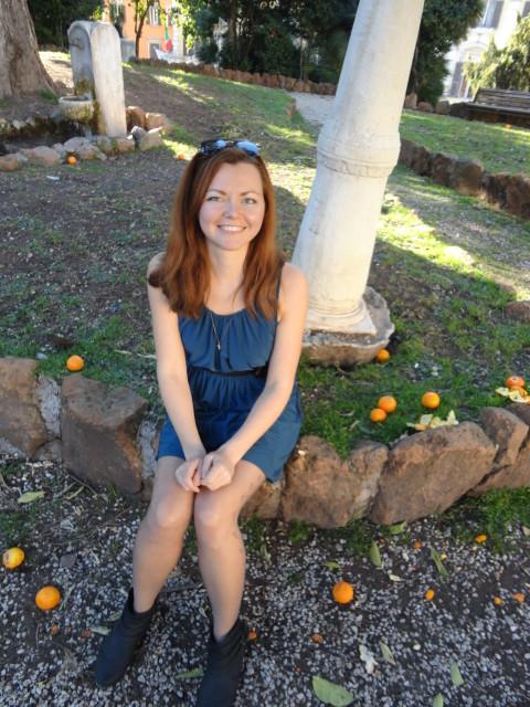 апельсиновый сад рим