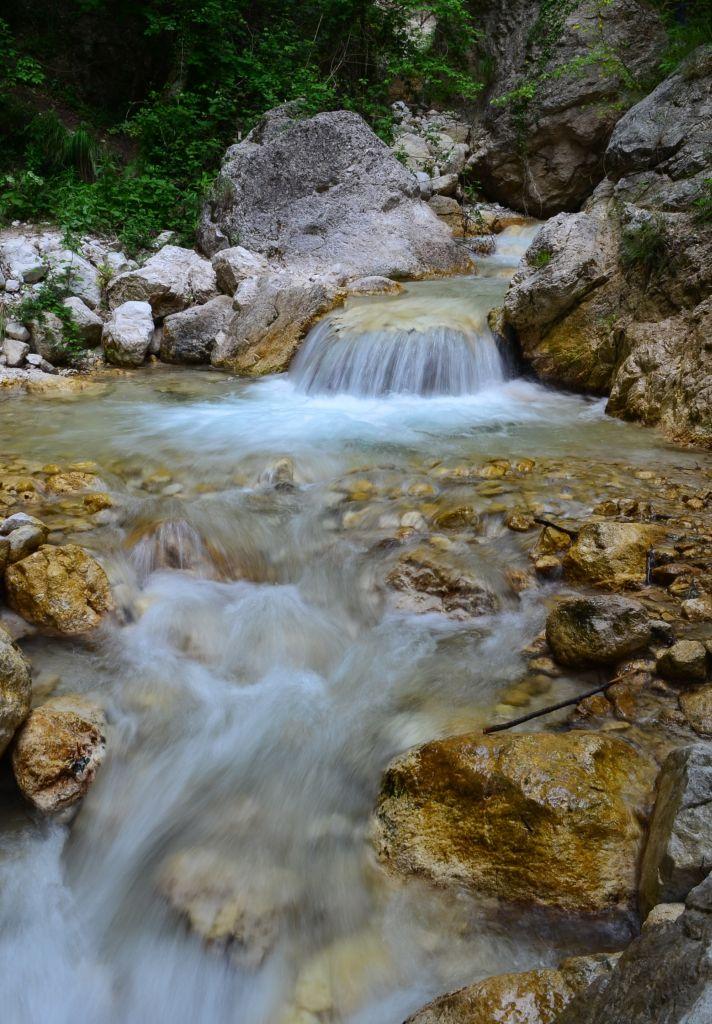 водопад италия