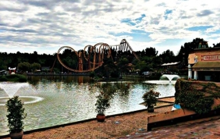 Parc Asterix roller coaster
