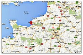 карта франция