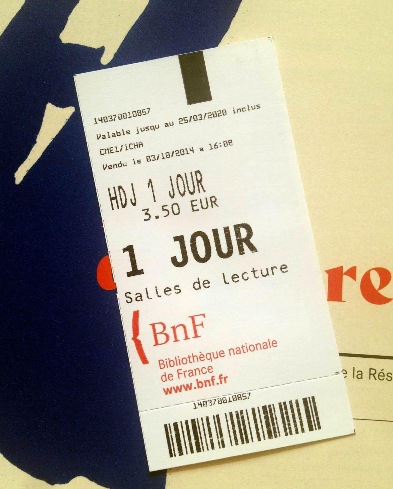 BNF билет