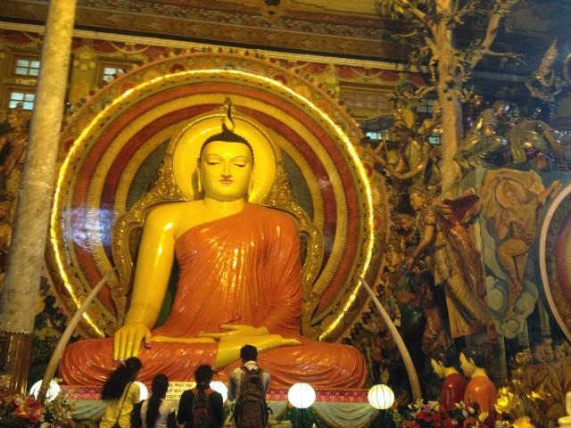 Gangaramaya буддистский храм