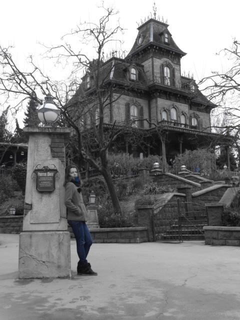 Phantom Manor диснейленд париж