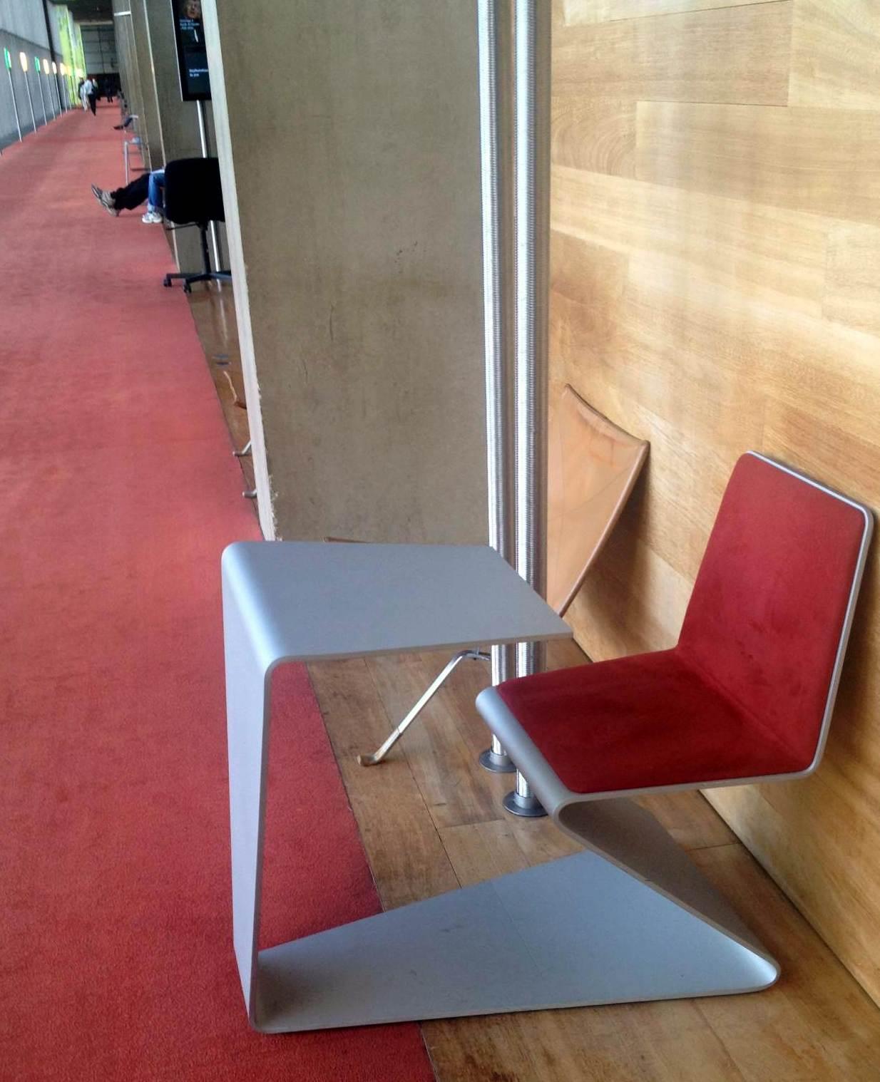 библиотека francois mitterand стул