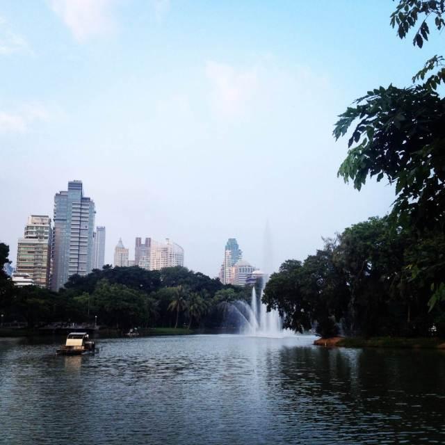 lumphini парк бангкок