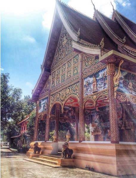 вьентьян храм