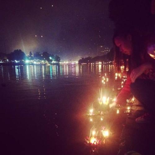 вода фестиваль Чианг Май