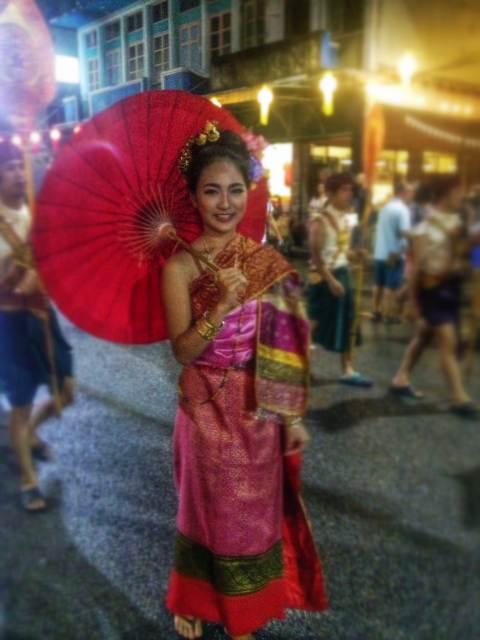 женщина чианг май