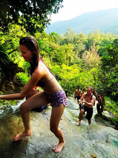 Sticky waterfalls чианг май
