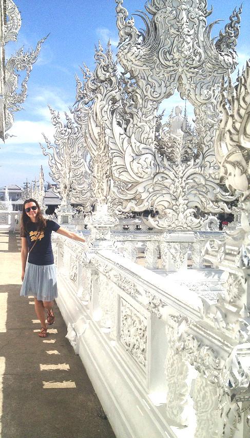 wat rong khun чианг рай таиланд
