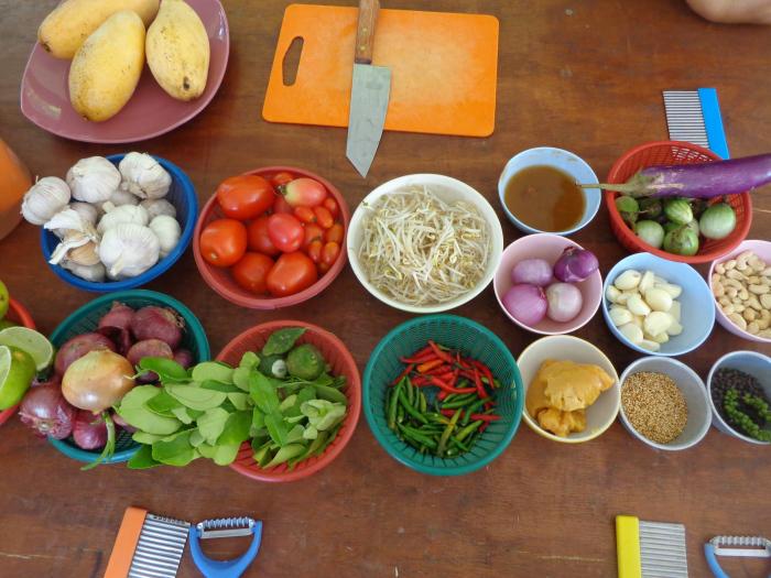 ингредиенты урок тайской кулинарии