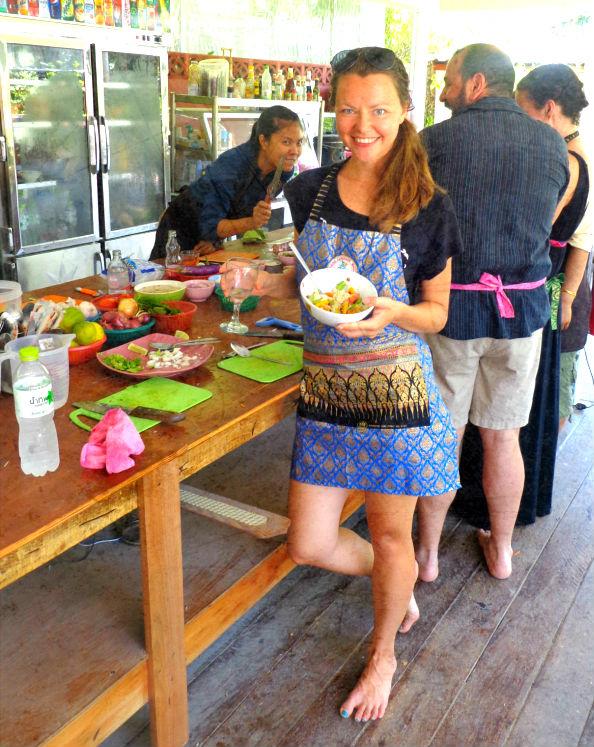 кулинария тайский салат
