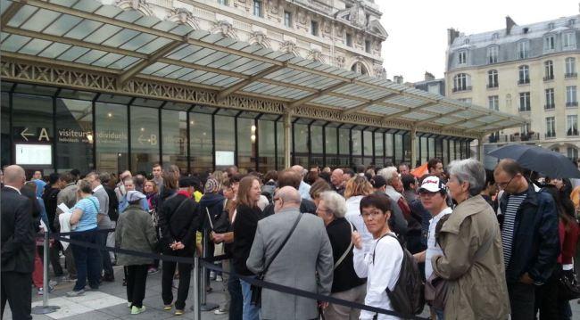 музей d'orsay очередь париж